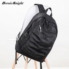 גבורה אביר USB טעינת מחשב נייד תרמיל 17 אינץ עבור גברים Camo שחור אופנה Masccline שקיות נסיעות Backbags גדול קיבולת תיק