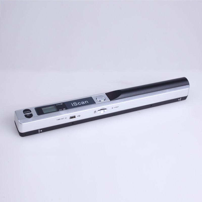 New Portable Handheld Scanner Document Scanner 900 DPI LCD Display Support JPG/PDF Format Selection Offline Scanning