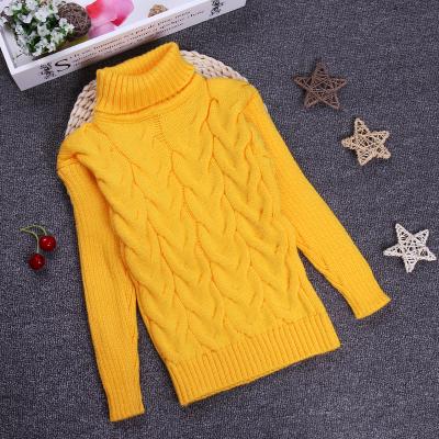 Promoción 2 3 4 6 8 10Y Niñas niños prendas de Vestir Exteriores Del Suéter de Cuello Alto Suéter Suéteres Cálidos Niños Enfant Garcon KC-1547-10