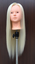 21inch Mannequin Head Makeup Training Maniqui Hairdressing Doll Heads Hairdresser Hair Style White