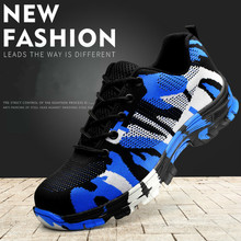 Smash and piercing safety protective shoes men shoe