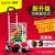 Tarjeta de compras cesta coche pequeño coche plegable deslizante de aleación de aluminio de vejez escalera remolque
