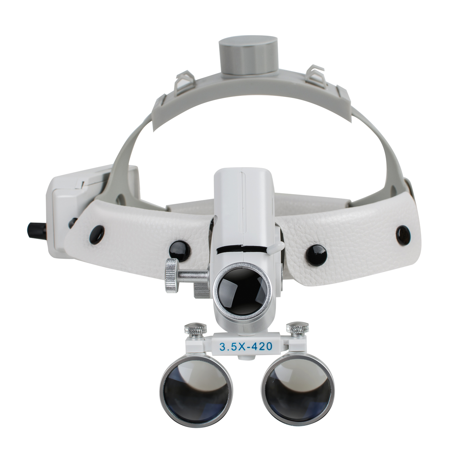 3.5X420mm Dental Magnify High Intensity Led Light Surgical Magnifier Surgeon Operation Medical Enlarger Clinical Dental Loupes image