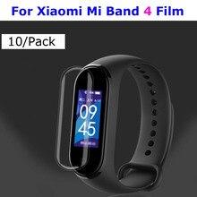 купить Mi Band 4 Protector Pantalla For Xiaomi Mi Band 4 3 Screen Protector Film For Xiaomi NFC Miband 4 3 Smart Bracelet Films 10 Pcs по цене 66.66 рублей