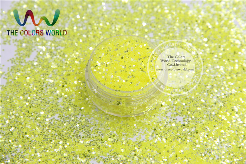 TCY004 Shinning silver yellow colors 1.0MM 040 Size for nail gel or Other Decoration