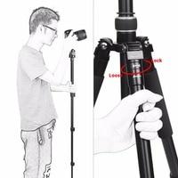 portable aluminum SHOOT Professional Portable Travel Camera Tripod Aluminum Alloy 4-Sections Tripod Stand for Canon Nikon SLR DSLR Digital Camera (4)