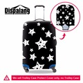 Simple Star print  elastic polyester travel luggage cover geometric spandex waterproof Girls Clear travel luggage protectives