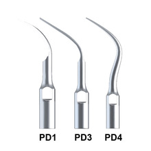 Hot 3Pcs Teeth Cleaning Tools PD1 PD3 PD4 Perio Scaling Tip Dental Scaler Tips For SATELEC And DTE Ultrasonic Scaler Handpiece deasin 2018 original woodpecker dental led light ultrasonic piezo scaler handpiece fit for dte satelec scaling tips hd 7l