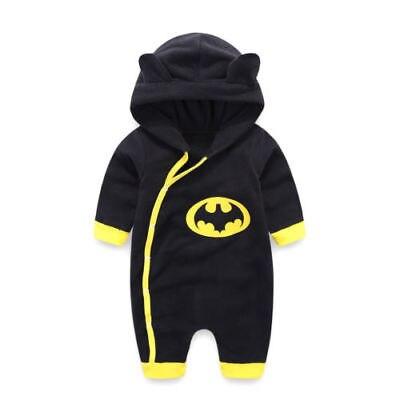 Strampelanzüge Bodys & Einteiler Offen 0-24 Mt Neugeborenen Jungen Winter Batman Mit Kapuze Spielanzugoverall Warme Baumwolle Kleidung Outfits Zu Den Ersten äHnlichen Produkten ZäHlen