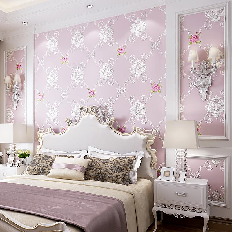 de lujo europea damasco papel tapiz diseos d rstico rollo de papel tapiz floral para las