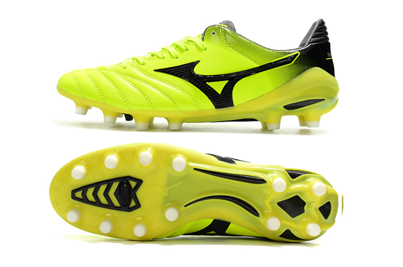 Mizuno Morelia Neo Mix Mizuno Wave Ignitus 4MD Basara FG Soccer Spikes Men Yellow Soccer Shoes Weightlifting Shoes Size 39-45