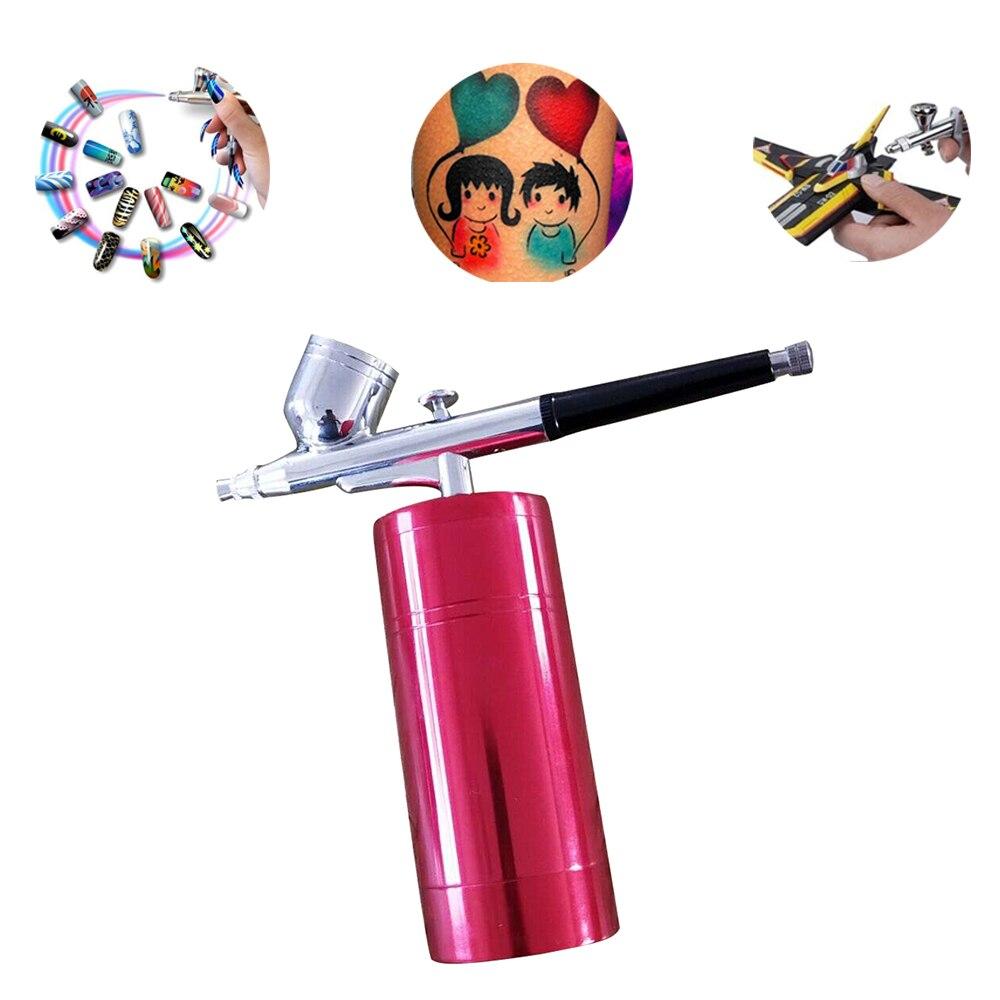 Lo nuevo recargable portátil integrado Kit aerógrafo para maquillaje ...