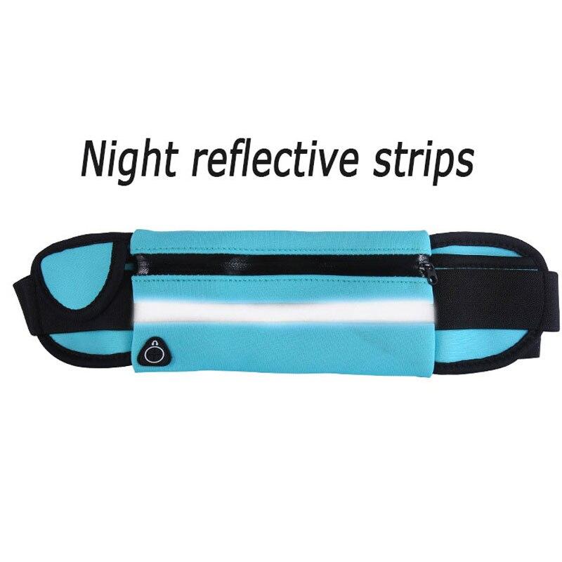 running - New Outdoor Running Waist Bag Waterproof Mobile Phone Holder Jogging Belt Belly Bag Women Gym Fitness Bag Lady Sport Accessories