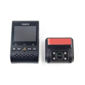 Image 2 - Viofo A129 Duo Ir Voor en Interieur Dual Dash Cam 5Ghz Wifi Full Hd 1080P Gebufferd Parking Modus voor Uber Taxi