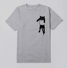 Cartoon New Summer Women Lovely Sexy O-Neck Casual Short Sleeve T-Shir Cat Alphabet Print Fashion T-Shirt GBQ