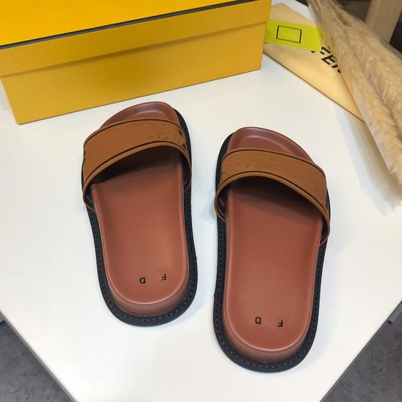 fdc02eea2acc 2019 À Nouveau En Luxe Chaussures Épais Hommes Sandales Chaussons Colour  Épaisse Mode Femme picture Pour Printemps Et Cuir ...