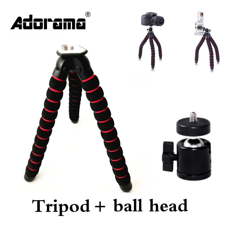 XL Octopus Gorillapod Digital Camera Tripod Stand Flexible Grip Mount with Ball Head For DSLR camera