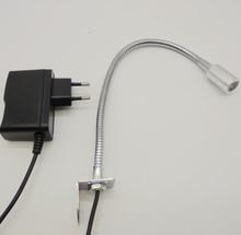 Free Shipping AC85-265V/12V/24V 1W Gooseneck CNC Led Machine Lamp цена