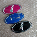 20 pcs eu estrela estilo do carro Auto decoração Decal Logo emblema emblema reequipamento adesivos WRX Impreza Forester XV preto / azul / rosa