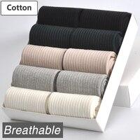 10 Paia/lotto Donne Calze di Cotone Brand New 5 Colori Respirabile Comodo Durevole di Alta Qualità Donna di Stile di Modo Del Calzino Femminile