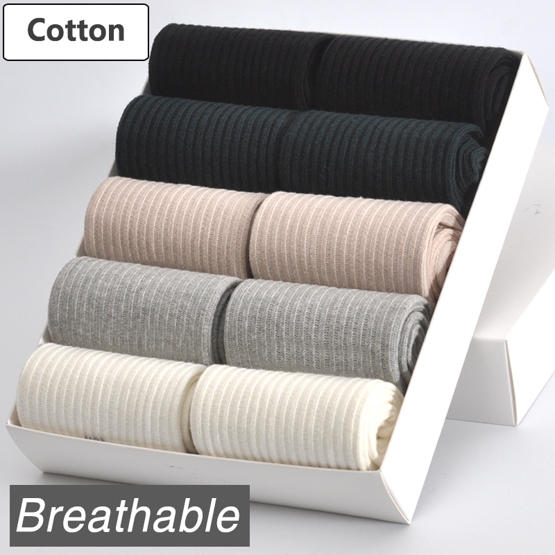 10 Pairs/ Lot Women Cotton Socks Brand New 5 Colors Comfortable Breathable Durable High Quality
