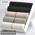 10 Par/lote Mujeres Calcetines de Algodón Nuevo 5 Colores Estilo Cómodo Respirable Durable de Alta Calidad de La Manera Mujer Calcetín Femenino