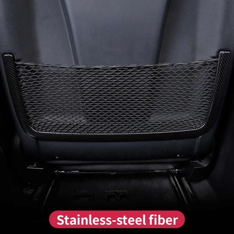 Sedile Posteriore Cornice Netto Copertura Decorazione Sitcker Trim per Mercedes Benz GLE 350d W166 ML350 GL450 X166 GLS amg lnterior accessori