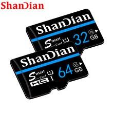 SHANDIAN Nova chegada micro sd carte classe 10 32 Cartão Micro Sd Gb 16GB 4gb C6 64GB CARTÃO de MEMÓRIA sd CARTAO de memoria memória carte