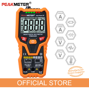Image 1 - PM8248S Smart Volledig Autorange Professionele Digitale Multimeter Voltmeter Met Ncv Frequentie Bargraph Temperatuur Transistor Test