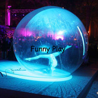 Inflatable Dance Shows Ball PVC Water Walking Balles Person Inside Bubble Show Ball Inflatable advertising show Balls