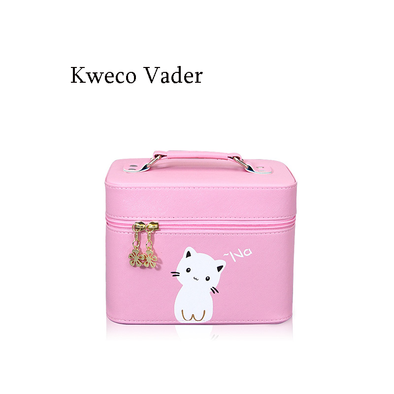 Luxury Handbags Cosmetic Bag 2017 Customized Hard Professional Portable Cosmetic Bags Large Capacity Woman Bags Makeup