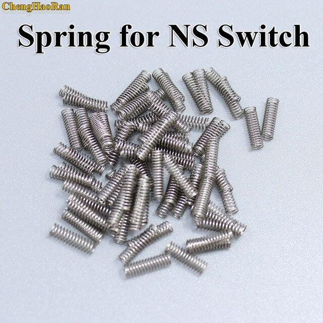 200 10000 pcs Primavera per Interruttore NX Joy con Joycon Riparazione Primavera Per NS Regolatore di Interruttore di Blocco di Metallo fibbia di Ricambio Parte