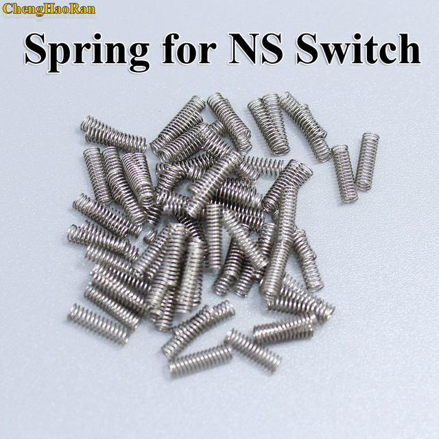 200   10000pcs Spring for Switch NX Joy con Joycon Repair Spring For NS Switch Controller Metal Lock Buckle Replacement Part