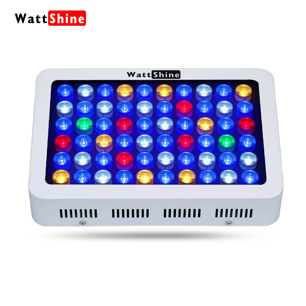 Dimmable Manual control 180 LED light Decorative fish tank Gradual change Underwater plants enriched Fish landscaping aquarium