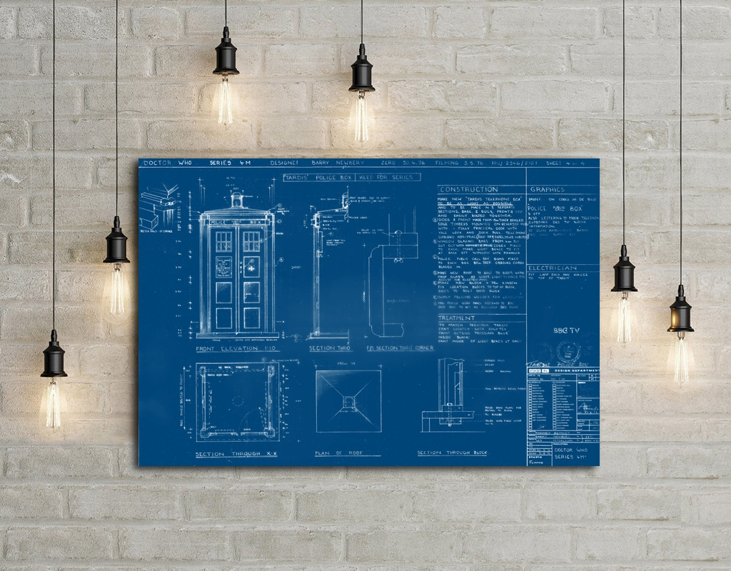 Cool tardis blueprint art silk poster home decor 12x18 24x36inch in cool tardis blueprint art silk poster home decor 12x18 24x36inch malvernweather Image collections