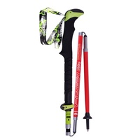 Hot Ultra light Folding Nordic Walking Poles Carbon Fiber Trekking Poles Trekking Stick Alpenstock Carbon Walking Sticks