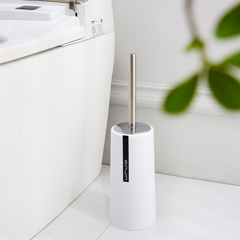 european toilet brush holder stainless steel frame plastic holder ...