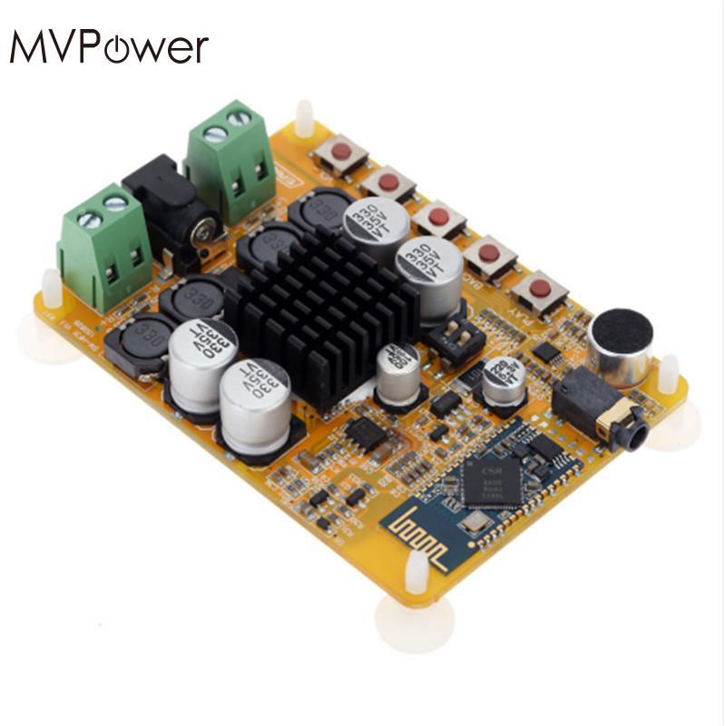 Mvpower tda7492 4.0 2*50 W 2 energía Amplificadores tablero receptor de audio inalámbrico Bluetooth estéreo digital Amplificadores modul