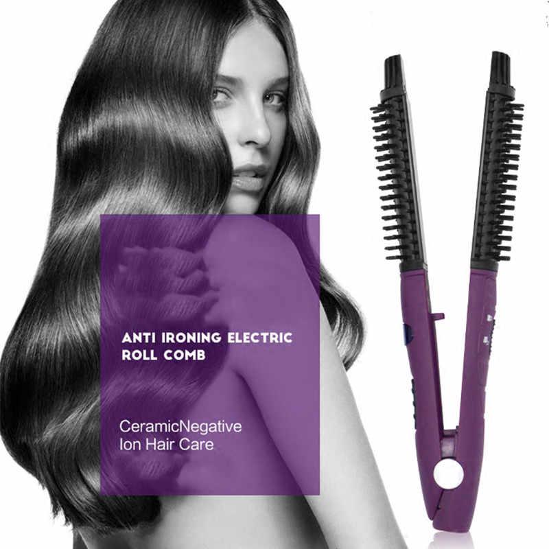 2 в 1 выпрямитель для завивки 2019 профессиональные выпрямления волн Гофрирование палочка бар для укладки волос инструменты Styler Waver