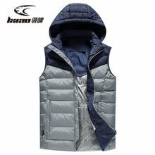 цена LXIAO Heated Vest Winter Usb Thermal Vest Heating Cloth Flashing Vest Men Outdoor Windproof Winter Clothes Men Plus Size M-5XL онлайн в 2017 году