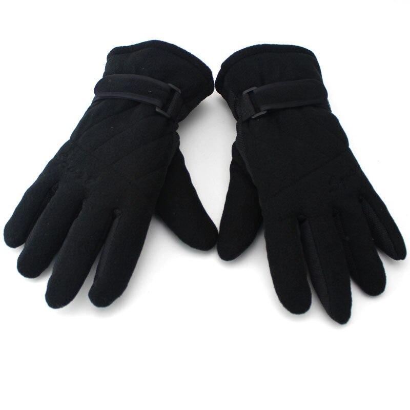 Unisex Winter Thicken Fleece Gloves Waterproof Keep Warm