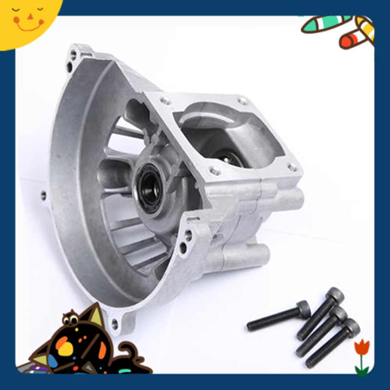 32cc engine parts Crankcase set for 32cc Rovan engine Zenoah engine GR320 aluminum water cool flange fits 26 29cc qj zenoah rcmk cy gas engine for rc boat
