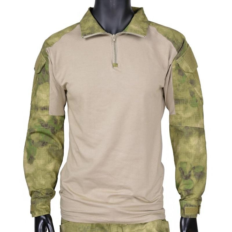 Cqc militar tático camisa gen2 manga longa