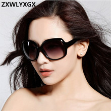 2018 New Mirror Goggle Sunglasses Women Brand Explosion-proof Lens Lar