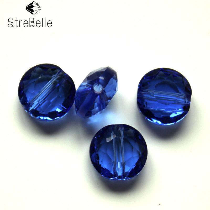 free ship AAA quality 100PC bag 8mm Austrian Crystal glass faceted Beads fit jewelry DIY in Beads from Jewelry Accessories