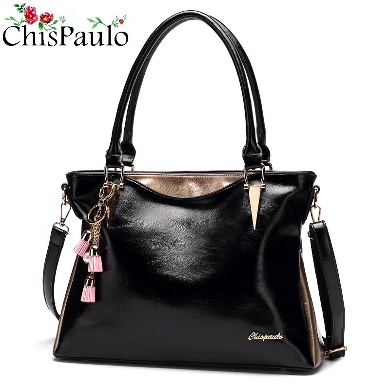 Fashion Women's Patent Genuine Leather Handbags Luxury Brand Women Bags Designer lady Crossbody Bags For Women Shoulder Bags t13 chispaulo luxury brand women genuine leather handbags designer female crossbody bag fashion women s shoulder bags lady bags x21 page 2