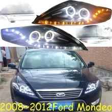 Phare de voiture avec accessoire anti brouillard, DRL, pour Mondeo fusion, 2008, 2009, 2010, 2011, 2012y, LED