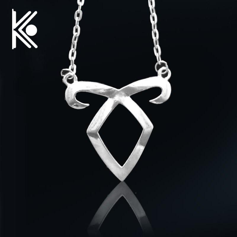 City of Bones necklace Angelic Forces Power Rune Necklace the mortal instruments necklace city of bones necklaces gothic men