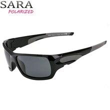 Фотография SARA Rectangle Frame Polarized Sunglasses Men  Anti Reflective Top Quality Lens Adult Sun glasses For Women Designer Oculos 9015