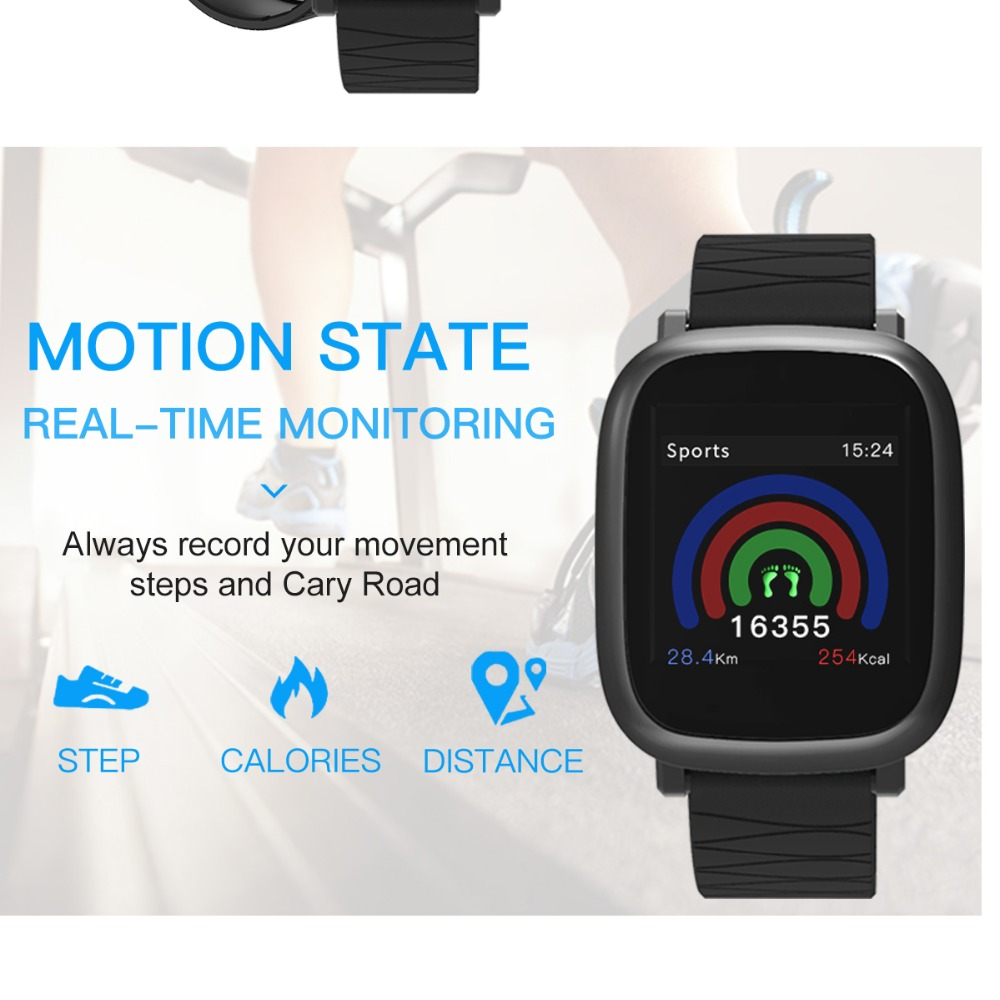 Bluetooth Digital Watch sport Fitness Tracker heart rate monitor For IOS iPhone 4